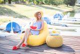 Tuli Relax Nicht abnehmbarer Bezug - Polyester Türkis