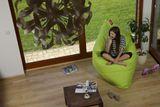 Tuli Sofa Abnehmbarer Bezug - Polyester gemustert  Fresh