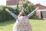 Tuli SuperModel Abnehmbarer Bezug - Polyester gemustert  Forest