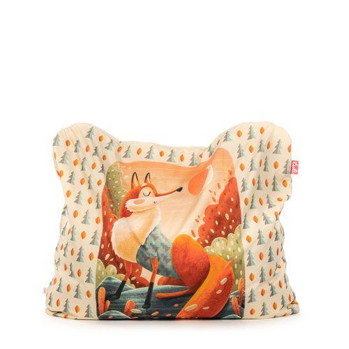 Tuli Funny Abnehmbarer Bezug - Polyester gemustert  Fuchs