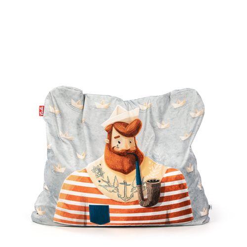 Tuli Funny Abnehmbarer Bezug - Polyester gemustert  Seemann