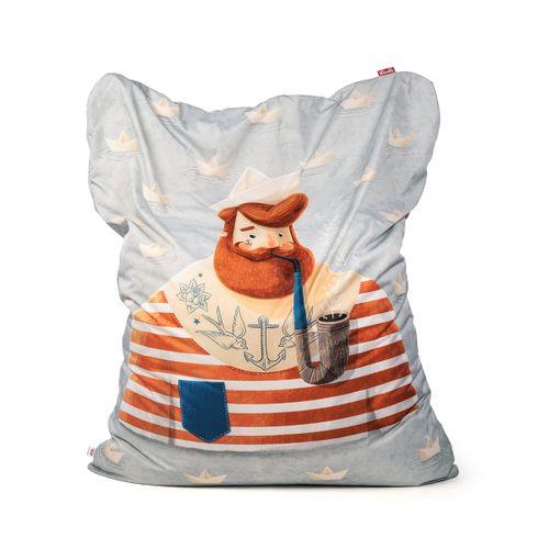 Tuli Sofa Ersatzbezug - Polyester gemustert  Seemann