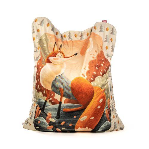 Tuli Sofa Abnehmbarer Bezug - Polyester gemustert  Fuchs